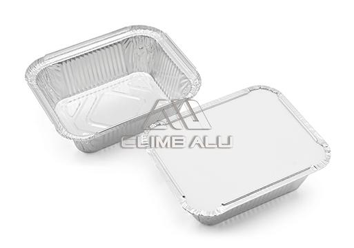 aluminum foil container with lids