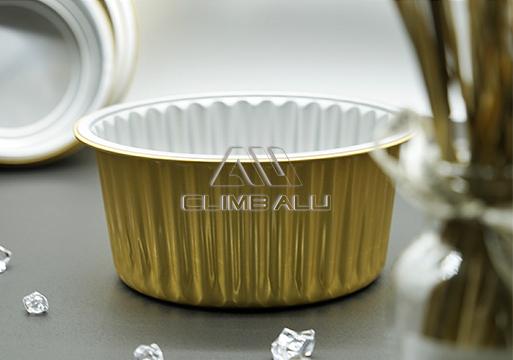 Color aluminum foil container1