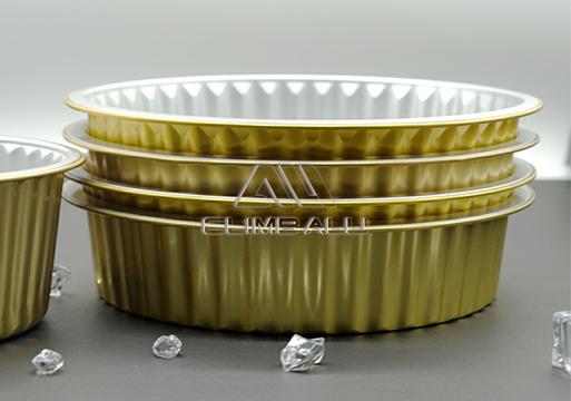 Color aluminum foil container3