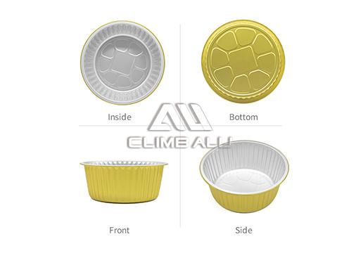 Color aluminum foil container5