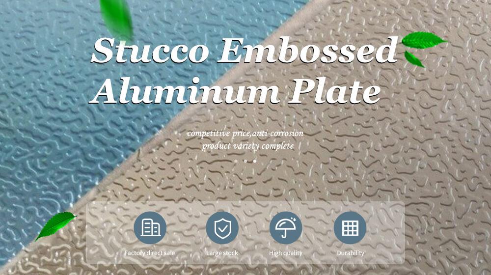 stucco embossed aluminum
