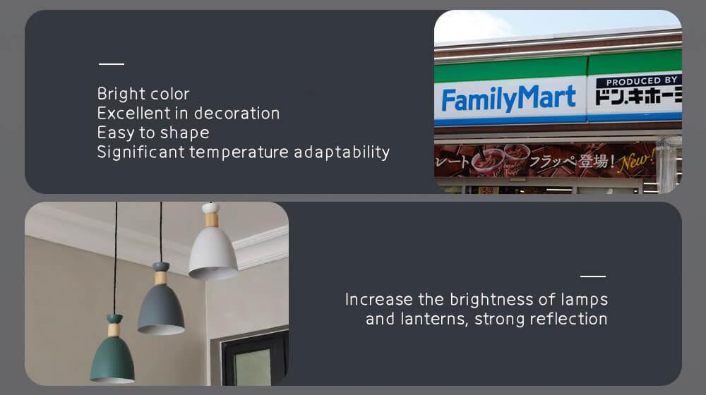 color coated aluminum coi