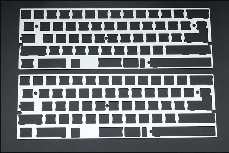 aluminium for keyboard