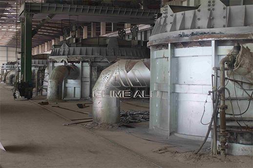 80-ton Smelting Furnace
