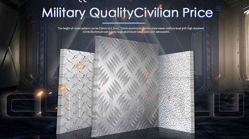 5754 h114 Aluminum checker plate