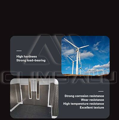 aluminum checker plate for wind power gegeration